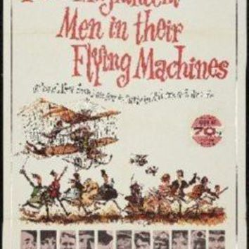 Those Magnificent Men Flying Machines Movie poster Metal Sign Wall Art 8in x 12in