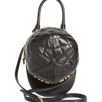 Moschino Quilted Logo Cap Leather Crossbody Bag | Nordstrom