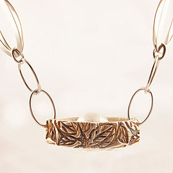 Hidden Splendor Pure Silver Necklace
