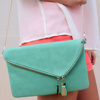 It's Mint to Be Messenger Bag
