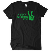 Women's Iran Solidarity T-shirt - S M L XL 2x - Ladies' Iran Tee - Freedom - 4 Colors