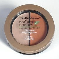 Sally Hansen Natural Beauty Natural Highlighter Duo, Gold Luster, Inspired by Carmindy, 0.11 Oz.