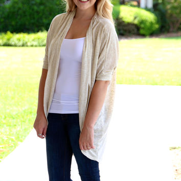 Wear with Anything Cardigan - Oatmeal