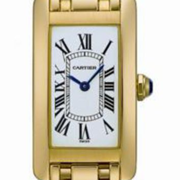 Cartier - Tank Americaine Small - Yellow Gold