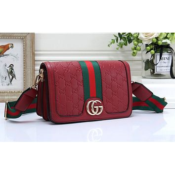Gucci Fashion Sales Women's Coloured Single Shoulder Bag