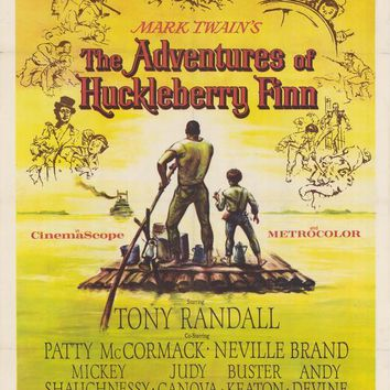The Adventures of Huckleberry Finn 11x17 Movie Poster (1960)