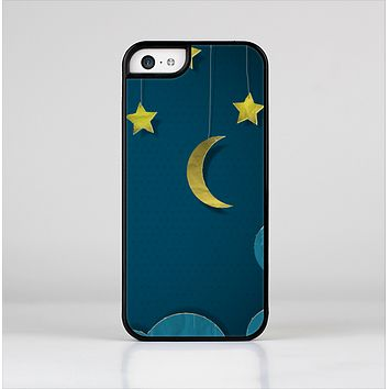 The Paper Stars and Moon Skin-Sert for the Apple iPhone 5c Skin-Sert Case