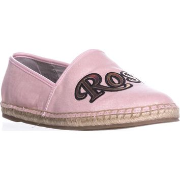 Circus by Sam Edelman Leni8 Espadrille Slip On Flats, Rose All day, 7.5 US / 37.5 EU