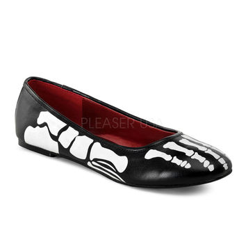 Funtasma Skeleton X-Ray Slip On Flats
