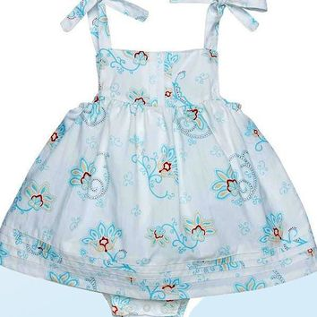 Organic Cotton Bubble Dress - Princess Petals