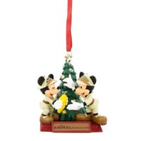 Disney Holiday Ornament Mickey and Minnie Animal Kingdom Tree New with Tags