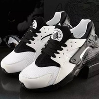 Trending Fashion Casual Sports Shoes  Black white
