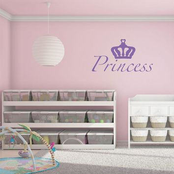 Princess Wall Decal