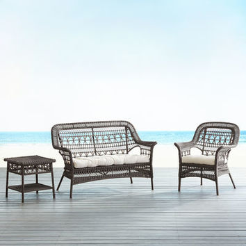 Layla Tobacco Brown 3-Piece Patio Set