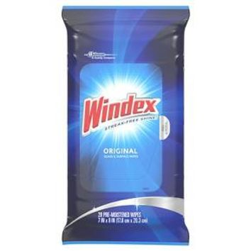 Windex® Original Pre-Moistened Wipes - 28 Count