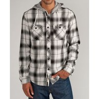 CCS L/S Hooded Flannel - Men's at CCS