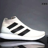 Adidas ACE 16+ PURECONTROL ULTRA BOOST Women Men Shoes B-SSRS-CJZX White
