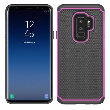 Heavy Duty Hybrid Armor Case For Samsung Galaxy S9/Plus TPU & PC Shockproof Anti Shock Cover For Samsung Galaxy S9 / S9 Plus S9+