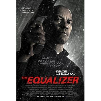 Equalizer The poster Metal Sign Wall Art 8in x 12in