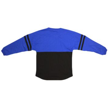 Royal and Black Pom Pom Jersey