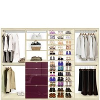 Isa Closet System Max - Shoe Storage, Shelves and Drawers