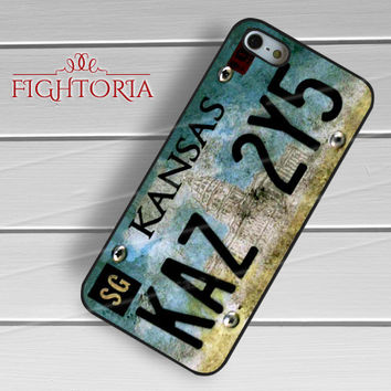 Supernatural Impala License Plate -swrh for iPhone 6S case, iPhone 5s case, iPhone 6 case, iPhone 4S, Samsung S6 Edge
