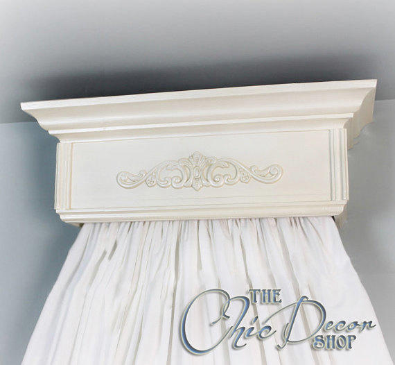 Bed Crown Canopy Crib Crown Nursery Design Wall Decor: Bed Crown, Crib Crown, Teester, Crib From TheChicDecorShop
