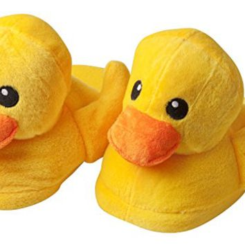 Ladies Plush Duck Slippers: Amazon.ca: Clothing & Accessories