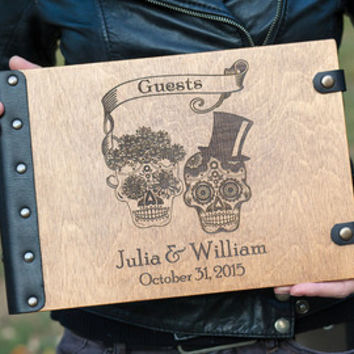 Wedding Guest book, Guestbook, Customized, family tree