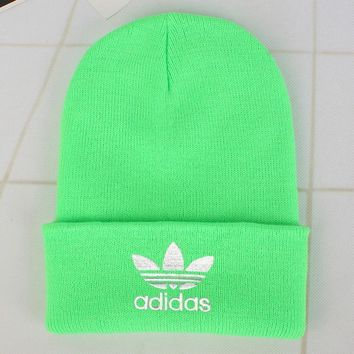 Adidas Fashion Edgy Winter Beanies Knit Hat Cap-7