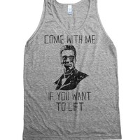 Athletic Grey Tank | Funny Workout Shirts