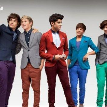 One Direction Poster Standup 4inx6in