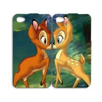 Adorable Deer Cute Disney Bambi Pair iPod Case iPhone Cover Best Friend Cool Fun