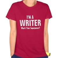 I'm a Writer what's your superpower?