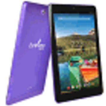 "Envizen EVT10Q Quad-Core 1.2GHz 1GB 32GB 10.1"" IPS Touchscreen 3G Tablet Android 4.4 w/Cams (Purple) (T-Mobile)"