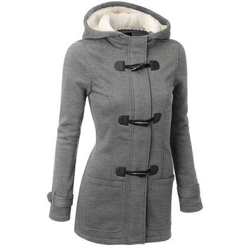 Soweto- Hooded Trench Coat
