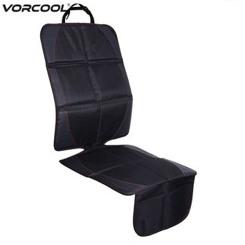 123*48cm Oxford Cotton Luxury Leather Car Seat Protector Child Baby Auto Seat Protector Mat Improved Protection For Car Seat