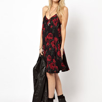 ASOS Rose Print Swing Cami