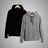 Winter Men's Fashion Cotton Men Hoodies Hats [6542574723]