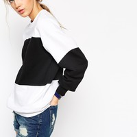 ASOS Colour Block Sweatshirt