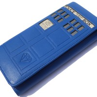 Doctor Who 5.0 Tardis Wallet