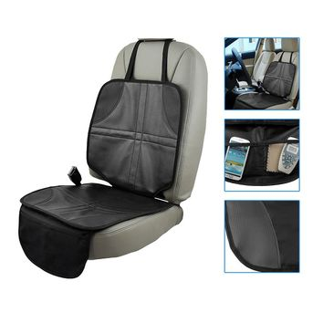 Anti-Slip Car Seat Protector Cover Install Under Baby's Infant Safty Seat