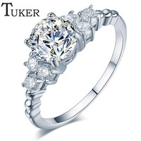 $0.01 + SHIPPING COST! White Gold Color Ring (Limit 5 Per Customer)