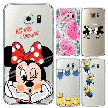 Silicon Coque For iPhone 6 6S 7 Plus 5 5S SE 5C Case for Samsung Galaxy S3 S4 S5 S6 S7 Edge J3 J5 A3 A5 2016 Note 7 Grand Prime
