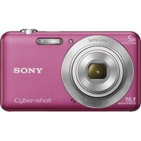 Sony - Cyber-shot DSC-W710 16.1-Megapixel Digital Camera - Pink