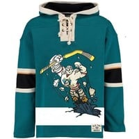 ca spbest Mighty Ducks  Style Green Sweatshirt