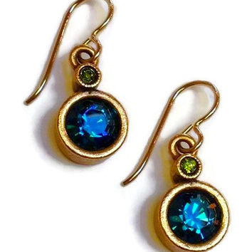 Patricia Locke Jewelry - Trick Earrings in Envy