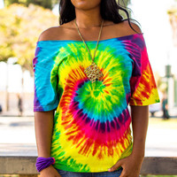 Tye Dye Renewed twist back tee