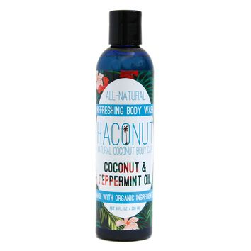 Refreshing Coconut + Peppermint Body Wash