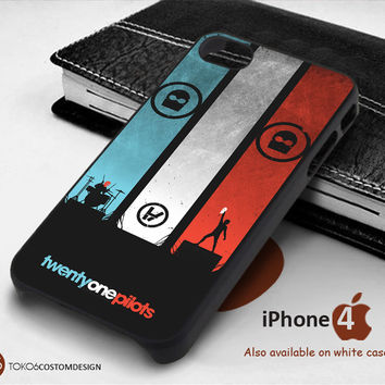 Twenty One Pillots for iPhone 4/4S, iPhone 5/5S, iPhone 6, iPod 4, iPod 5, Samsung Galaxy Note 3, Galaxy Note 4, Galaxy S3, Galaxy S4, Galaxy S5, Galaxy S6, Phone Case